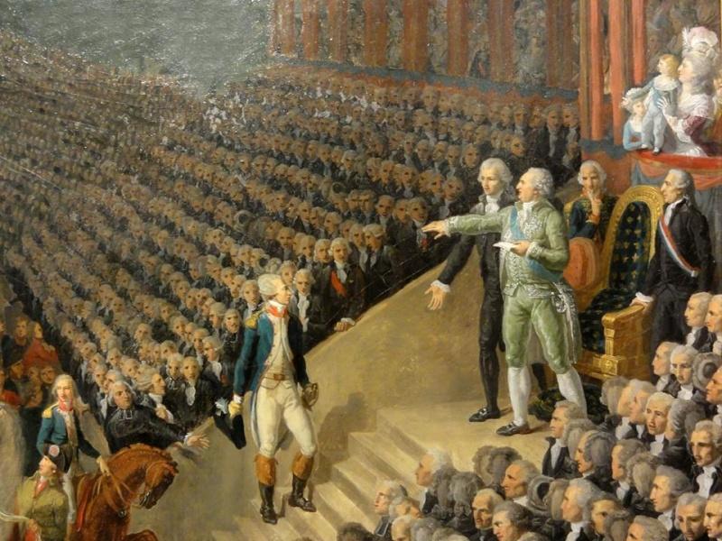 fédération - La Fête de la Fédération (14 juillet 1790)  10934011