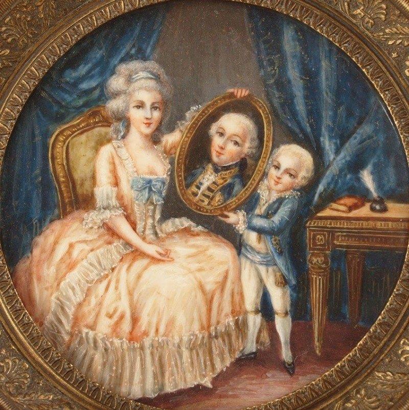 Le physique des enfants de Louis XVI et Marie-Antoinette - Page 3 10958810