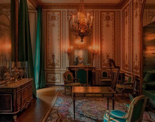 Le Cabinet doré de la Reine à Versailles Cabine10