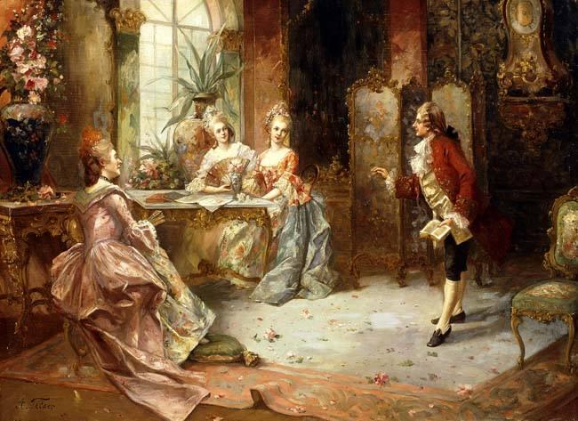 Portraits de Marie-Antoinette, enfant et jeune archiduchesse - Page 2 La_ley10