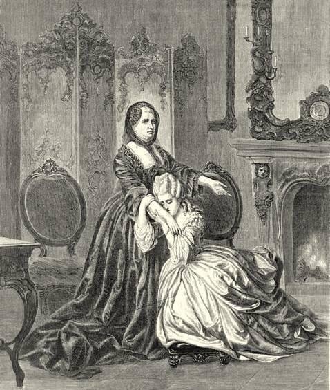 Portraits de Marie-Antoinette, enfant et jeune archiduchesse - Page 2 Ma_et_11