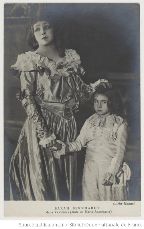 Sarah Bernhardt en Marie-Antoinette Ma_sar10
