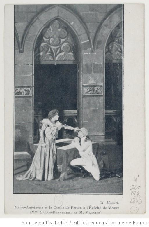 Sarah Bernhardt en Marie-Antoinette Ma_sar12