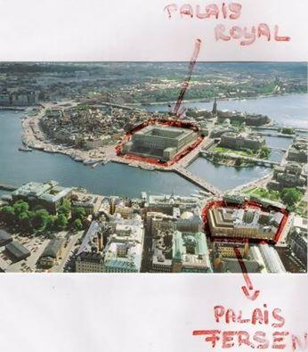 Le Palais Fersen à Stockholm Palais10