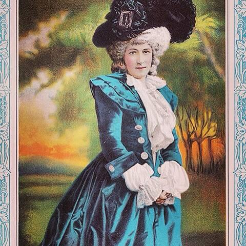 Sarah Bernhardt en Marie-Antoinette