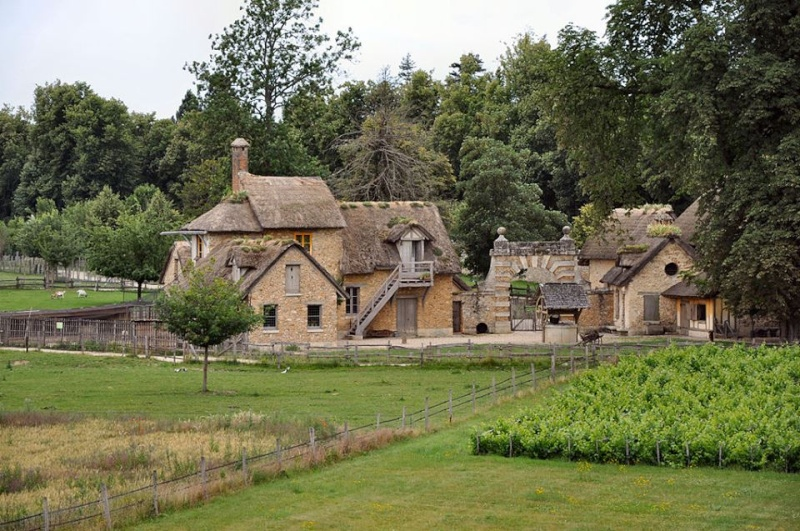 ferme - La ferme du hameau du Petit Trianon Vue_gy10