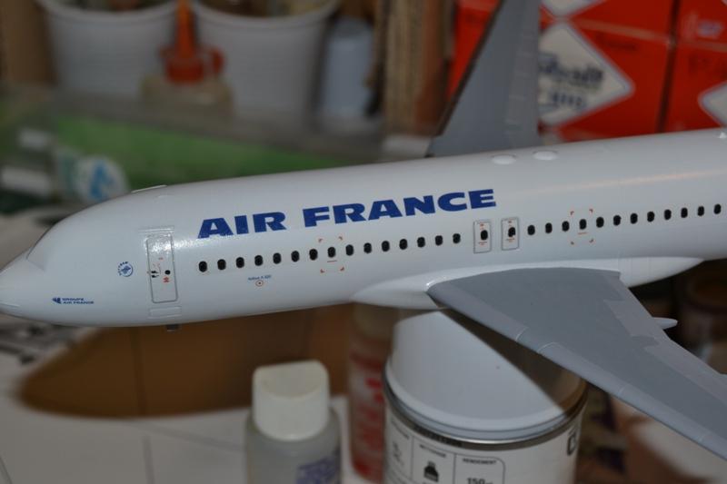 AIRBUS A 320-211 Cie AIR FANCE 1/125ème Réf 80448 0110