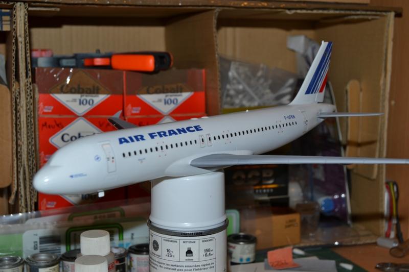 AIRBUS A 320-211 Cie AIR FANCE 1/125ème Réf 80448 0410