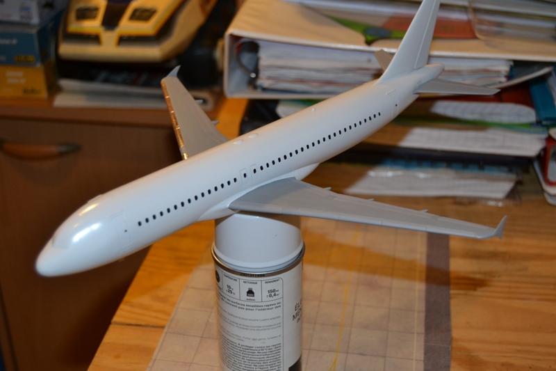 AIRBUS A 320-211 Cie AIR FANCE 1/125ème Réf 80448 A320-010