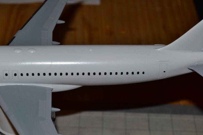 AIRBUS A 320-211 Cie AIR FANCE 1/125ème Réf 80448 A320-013