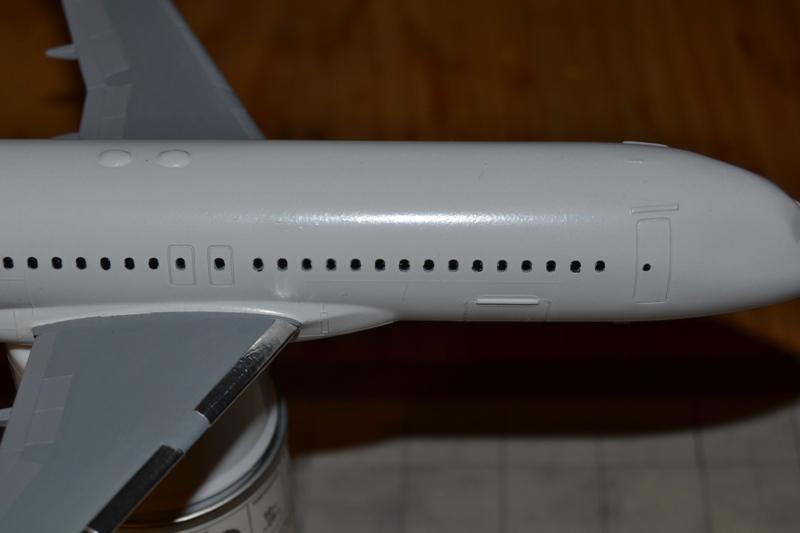 AIRBUS A 320-211 Cie AIR FANCE 1/125ème Réf 80448 A320-015