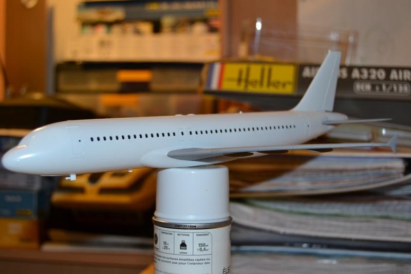 AIRBUS A 320-211 Cie AIR FANCE 1/125ème Réf 80448 A320-018