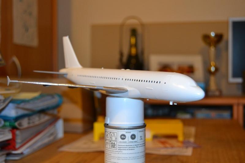 AIRBUS A 320-211 Cie AIR FANCE 1/125ème Réf 80448 A320-019