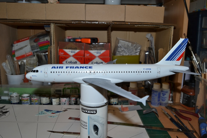 AIRBUS A 320-211 Cie AIR FANCE 1/125ème Réf 80448 A320_010