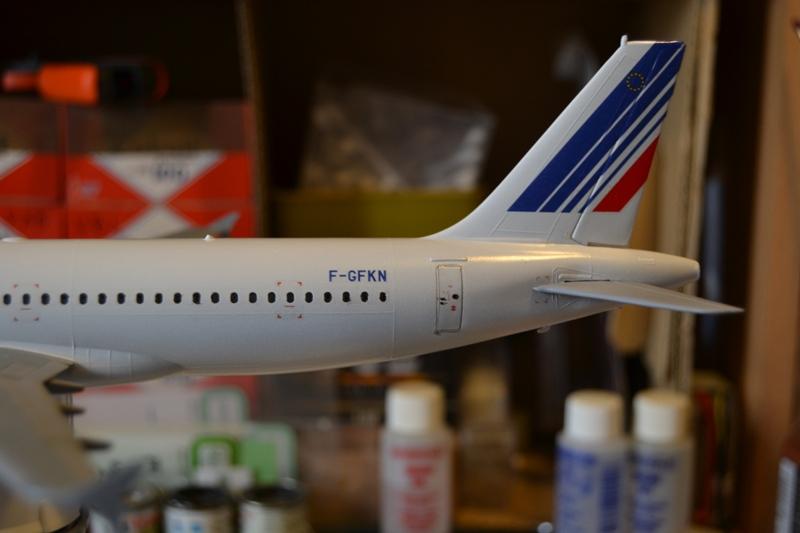 AIRBUS A 320-211 Cie AIR FANCE 1/125ème Réf 80448 A320_013