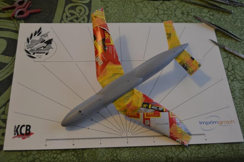 AIRBUS A 320-211 Cie AIR FANCE 1/125ème Réf 80448 Dsc_0017
