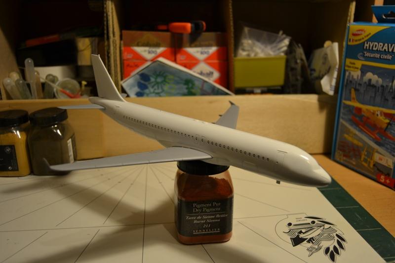 AIRBUS A 320-211 Cie AIR FANCE 1/125ème Réf 80448 Dsc_0027