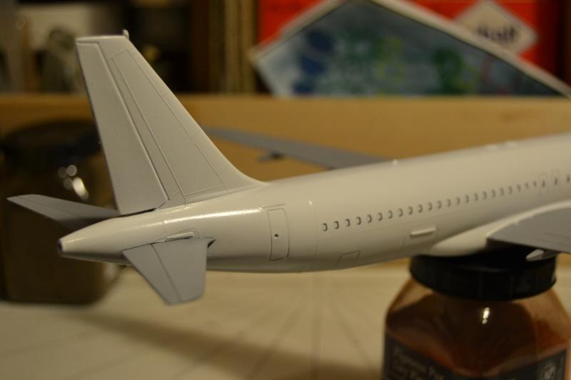 AIRBUS A 320-211 Cie AIR FANCE 1/125ème Réf 80448 Dsc_0030