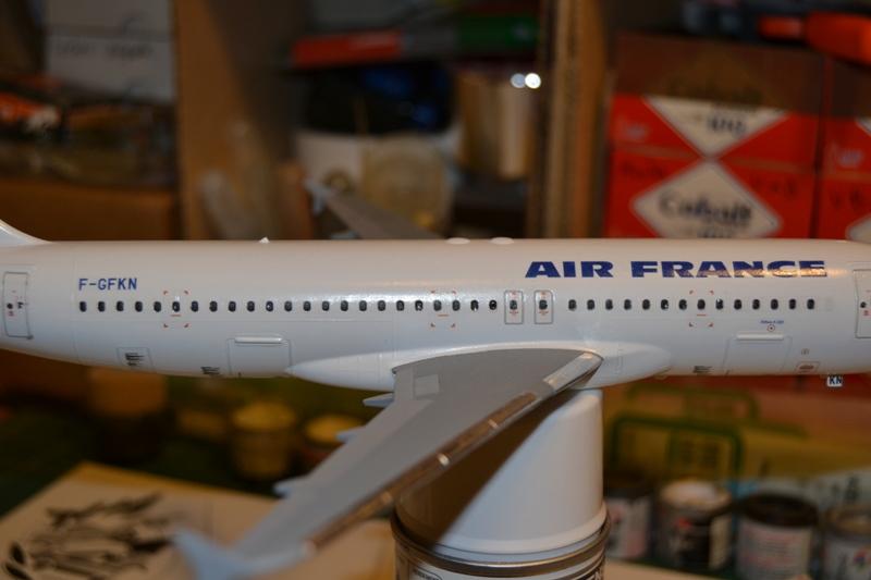 AIRBUS A 320-211 Cie AIR FANCE 1/125ème Réf 80448 Dsc_0053