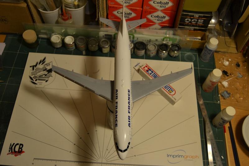 AIRBUS A 320-211 Cie AIR FANCE 1/125ème Réf 80448 Dsc_0055