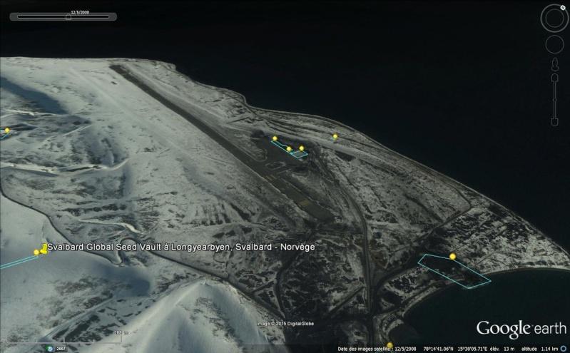 Réserve mondiale de semences du Svalbard - Norvège Sans_100