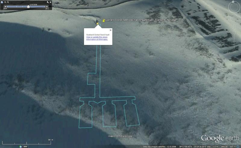 Réserve mondiale de semences du Svalbard - Norvège Sans_101