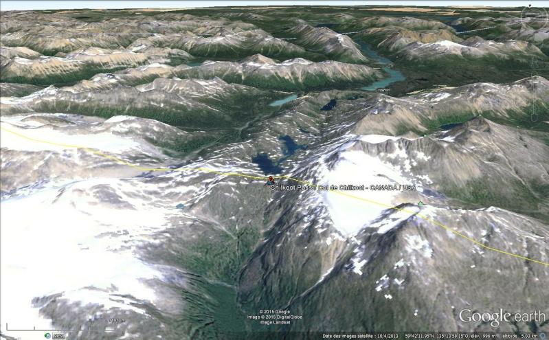 Fièvre de l'Or - Chilkoot Pass - Klondike - Yukon - Alaska Sans_143