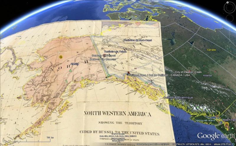 Fièvre de l'Or - Chilkoot Pass - Klondike - Yukon - Alaska Sans_144