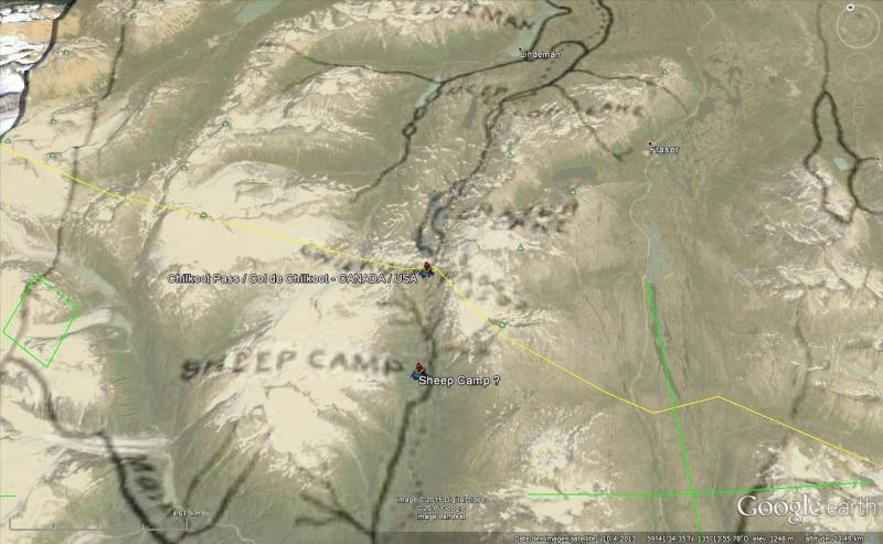 Fièvre de l'Or - Chilkoot Pass - Klondike - Yukon - Alaska Sans_146
