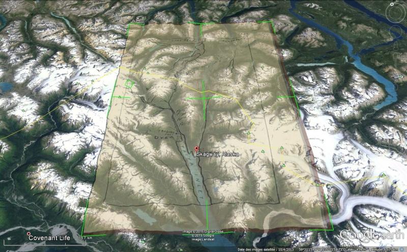 Fièvre de l'Or - Chilkoot Pass - Klondike - Yukon - Alaska Sans_147