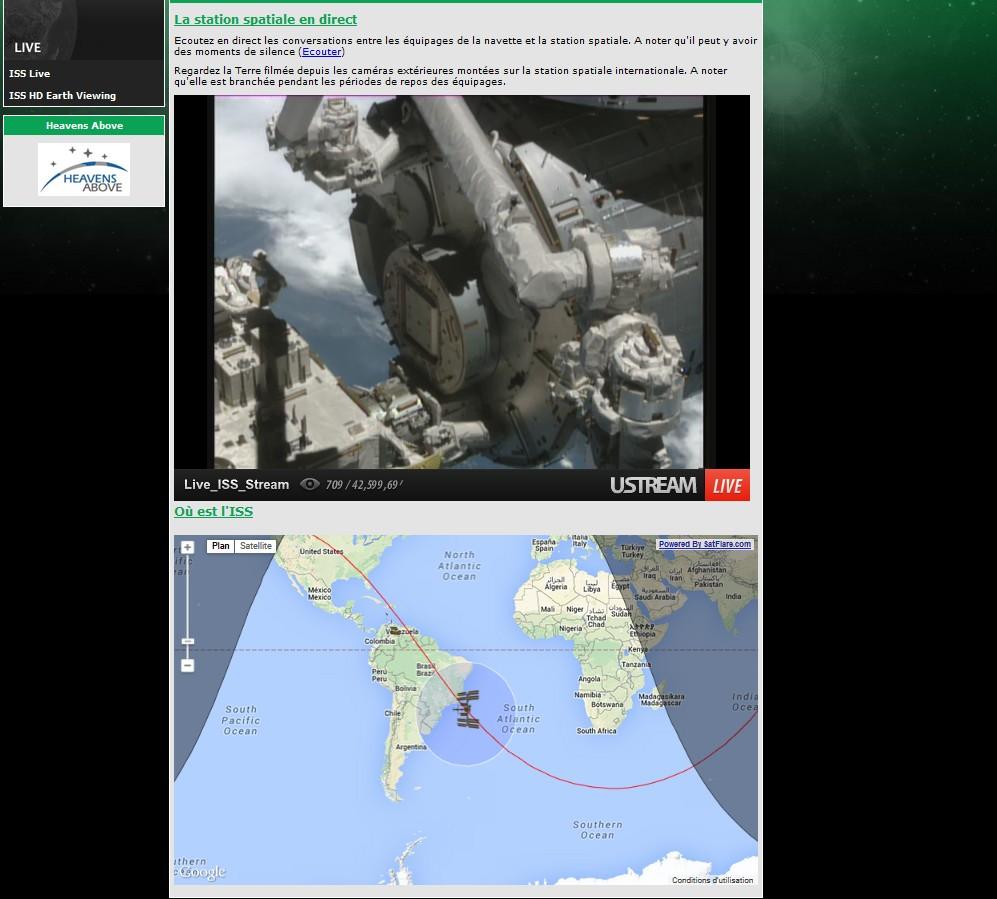 En direct de la Station Spatiale ISS .... Sans_t46