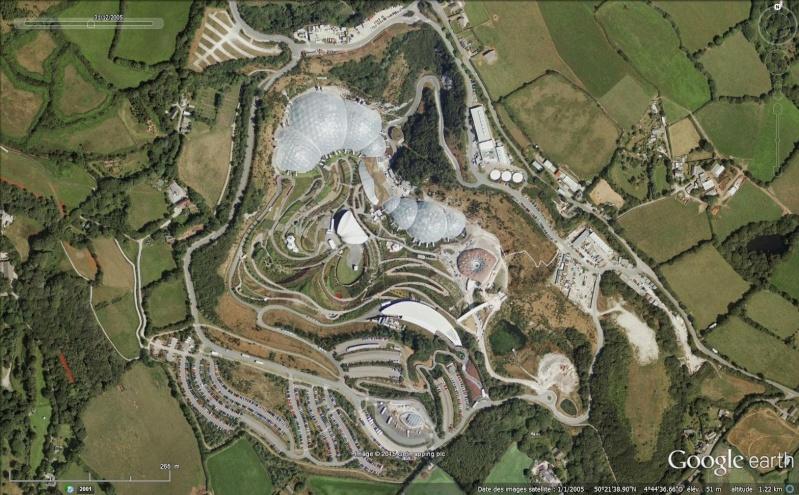 Eden Project, un complexe environnemental en Cornouailles - Angleterre Sans_t83