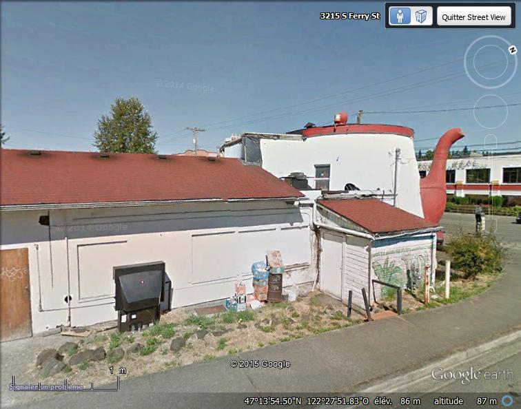 Cafetière géante à Tacoma, Washington - USA Sans_t92