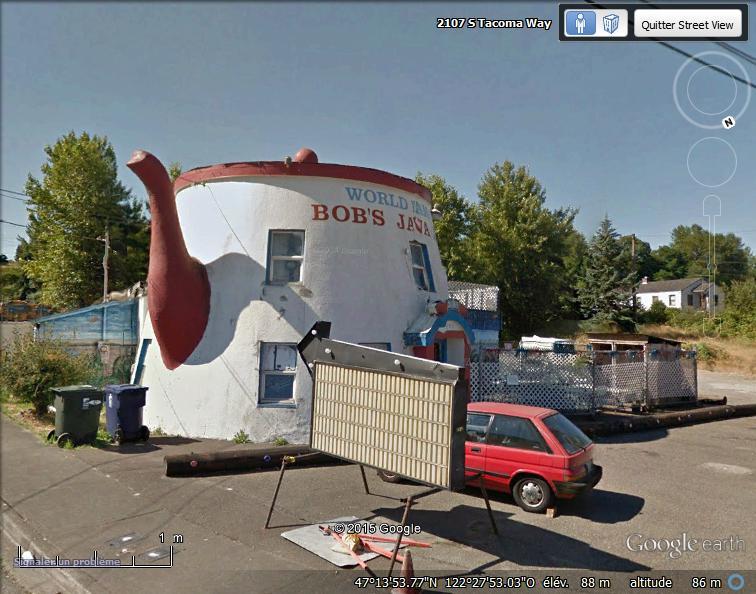 Cafetière géante à Tacoma, Washington - USA Sans_t93