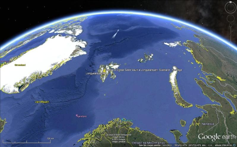 Réserve mondiale de semences du Svalbard - Norvège Sans_t97