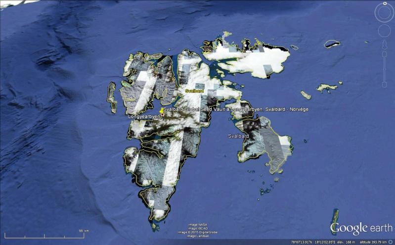 Réserve mondiale de semences du Svalbard - Norvège Sans_t98