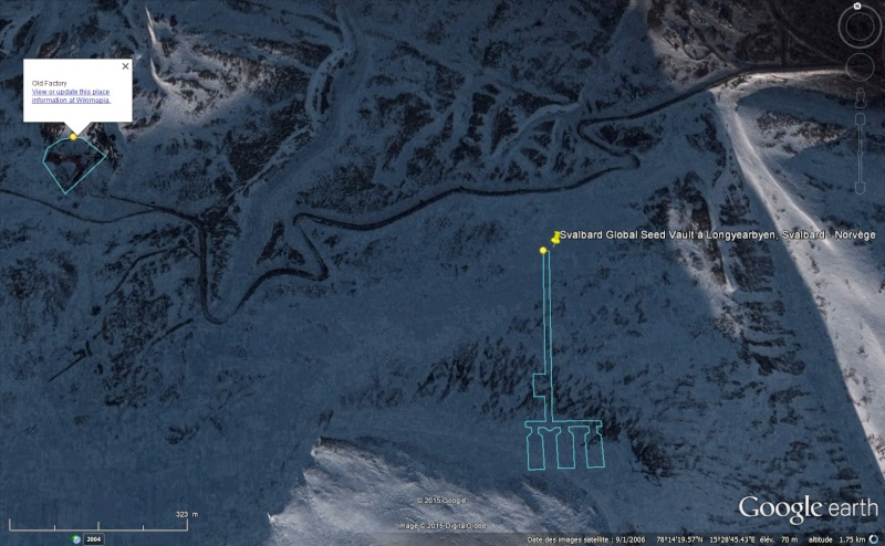 Réserve mondiale de semences du Svalbard - Norvège Sans_t99