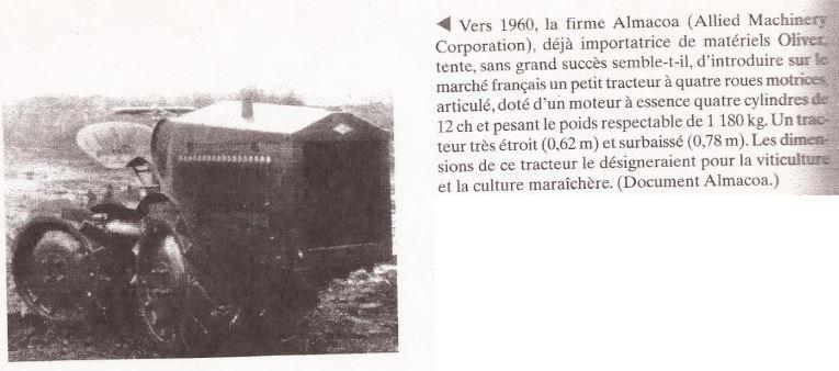 TRACTEUR - ALMACOA....le 1er tracteur 4x4 de petite taille Captu376