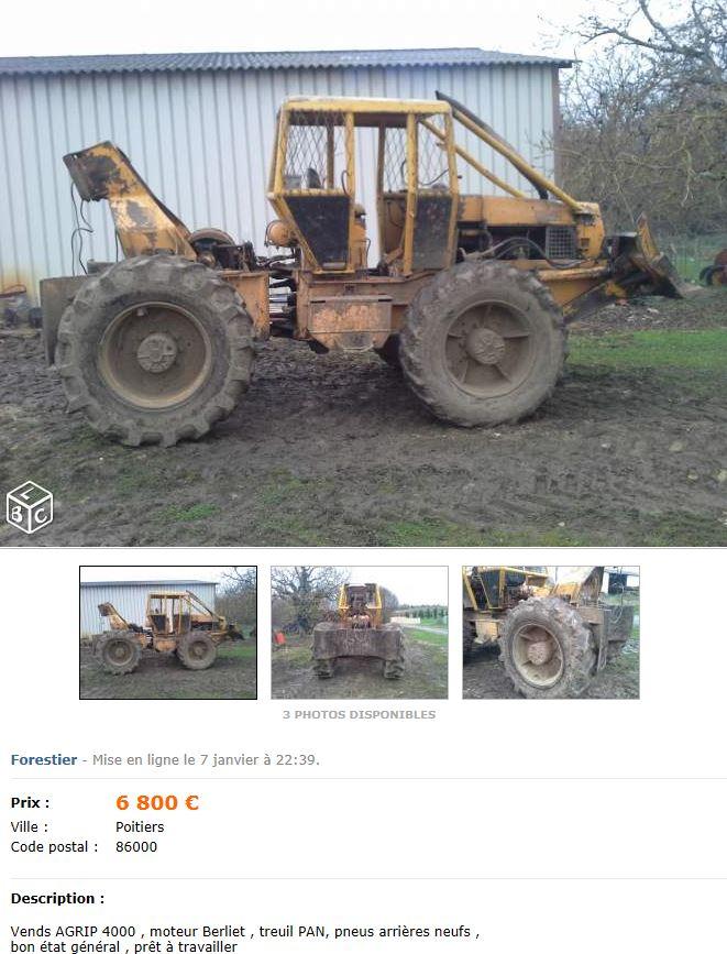 Les AGRIP en vente sur LBC, Agriaffaires ou autres Captu500