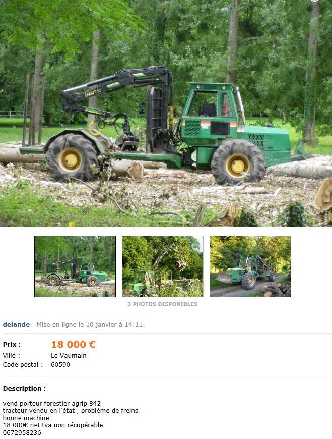 Les AGRIP en vente sur LBC, Agriaffaires ou autres Captu503