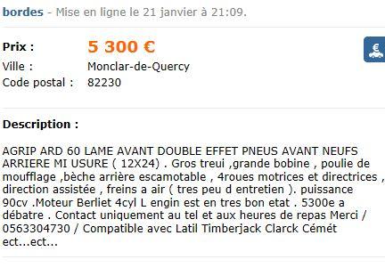 A vendre ARD 60 Captu614