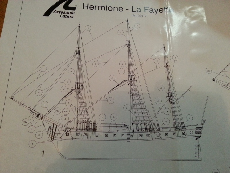 Frégate Hermione (Artesania Latina 1/89°) par NoNo la novice - Page 13 20150139