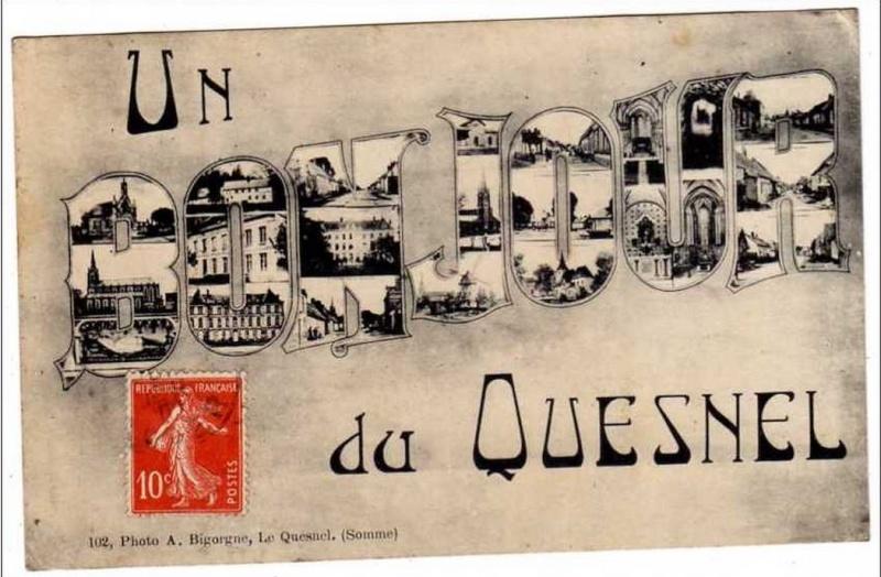 cartes postales originales de LE QUESNEL 110