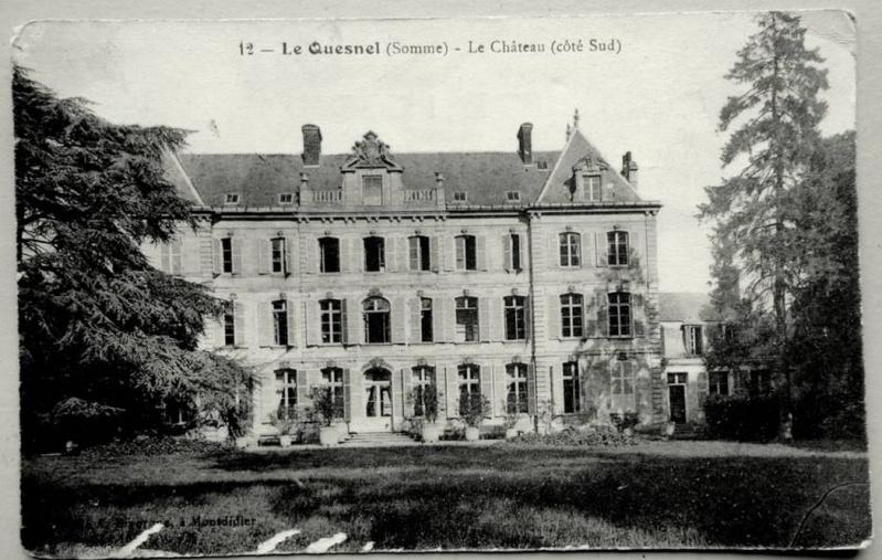 histoire du CHATEAU de LE QUESNEL 3610