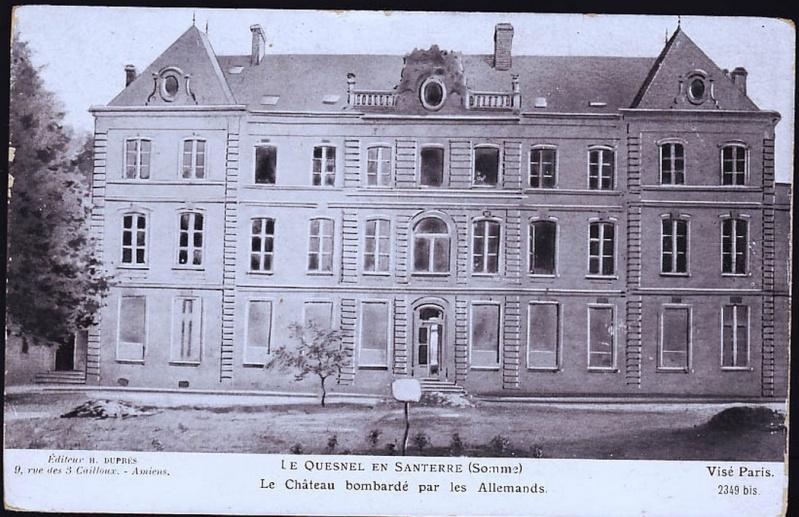 histoire du CHATEAU de LE QUESNEL 3910