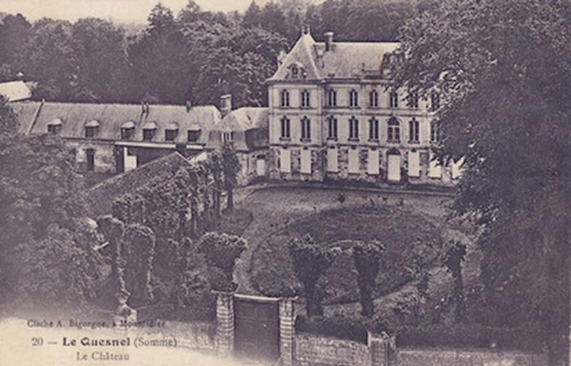 histoire du CHATEAU de LE QUESNEL 5610