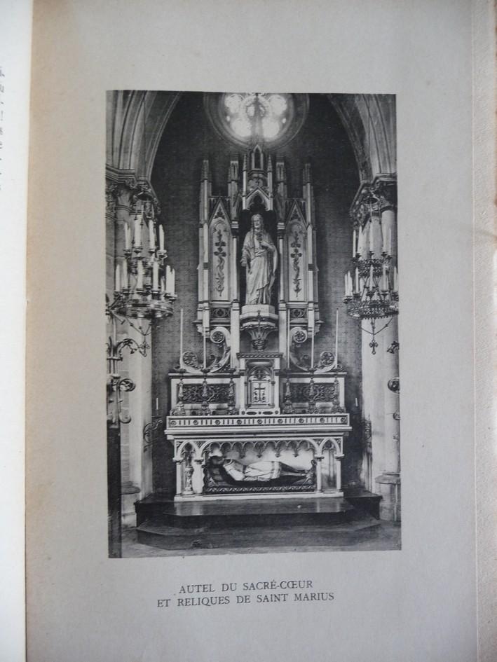 L'EGLISE de Le Quesnel : église Saint léger. Autel_10