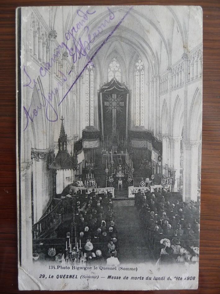 L'EGLISE de Le Quesnel : église Saint léger. Intyri11