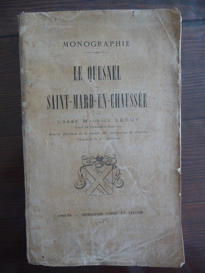 les LIVRES sur LE QUESNEL Monogr10