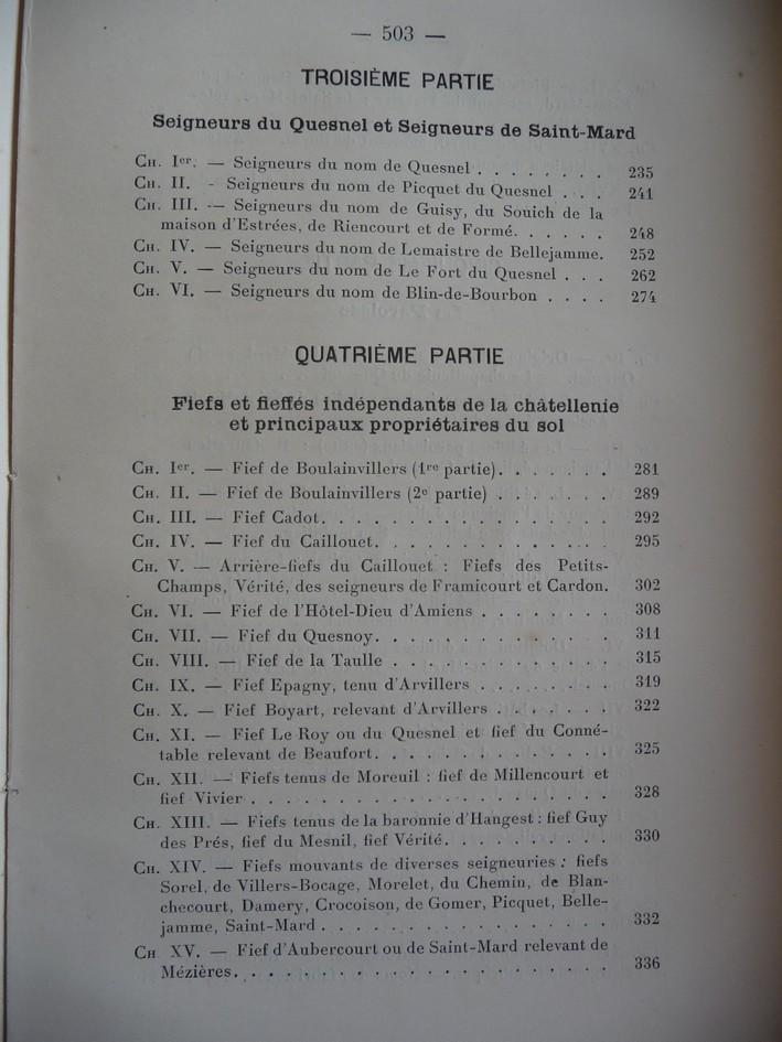 les LIVRES sur LE QUESNEL Monogr13